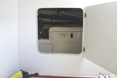 Access to Generator from Crew Quarters   click image to enlarge