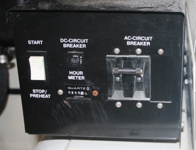Generator Control Panel   click image to enlarge