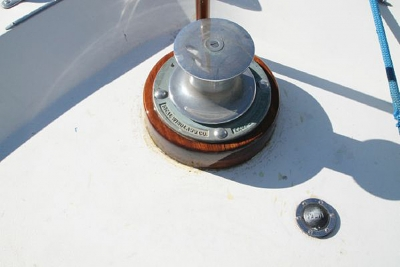 Windlass Foot Pedal   click image to enlarge
