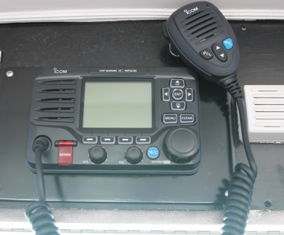 VHF--Icom M506   click image to enlarge
