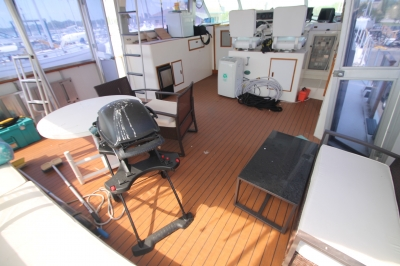AFT Deck Looking FWD   click image to enlarge