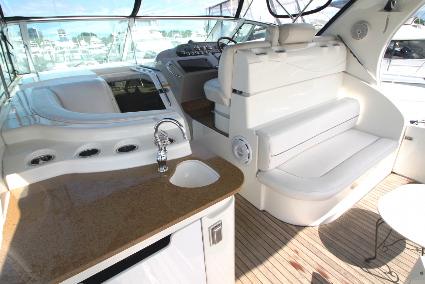 AFT Deck Looking FWD