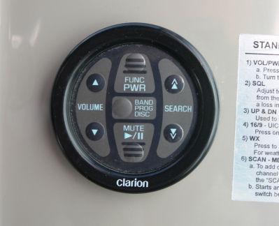 Clarion Remote   click image to enlarge