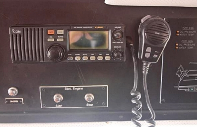 ICOM VHF #2   click image to enlarge