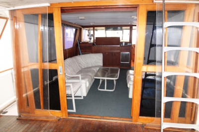 AFT Deck Looking FWD-Doors open   click image to enlarge
