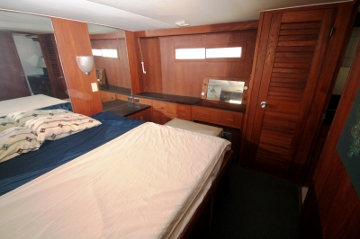 Master Stateroom to Port   click image to enlarge