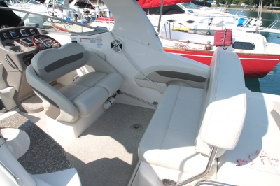 Helm Seat facing AFT   click image to enlarge