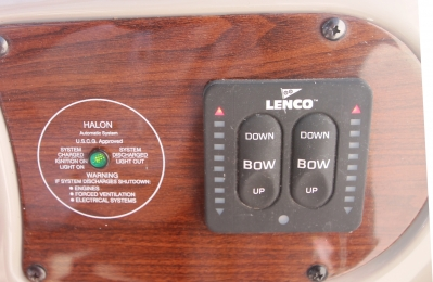 Trim Tab Controls with Indicators   click image to enlarge
