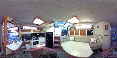 Salon / Galley 360° View   click image for View 360