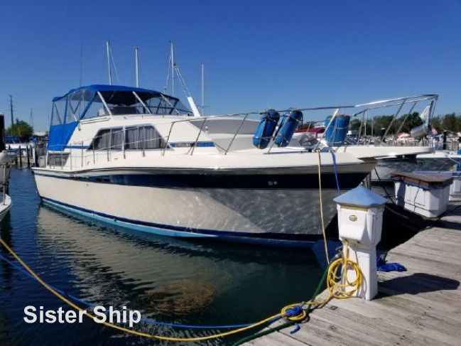 Chris Craft 381 Catalina for sale