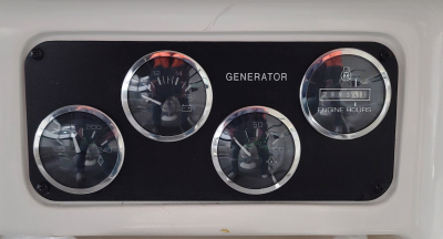 Generator Panel in Cockpit   click image to enlarge