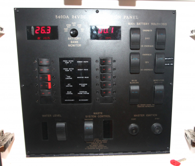 24V DC panel in Cabin   click image to enlarge